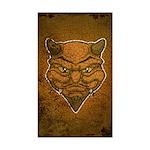El Diablo (Distressed) Sticker (Rectangle)