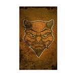 El Diablo (Distressed) Sticker (Rectangle)