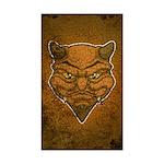 El Diablo (Distressed) Sticker (Rectangle 50 pk)