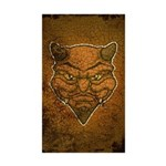 El Diablo (Distressed) Sticker (Rectangle 50 pk)