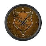 El Diablo (Distressed) Large Wall Clock