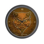 El Diablo (Distressed) Wall Clock