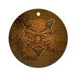 El Diablo (Distressed) Ornament (Round)