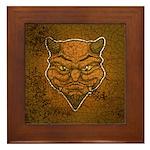 El Diablo (Distressed) Framed Tile