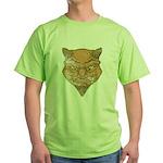 El Diablo (Distressed) Green T-Shirt