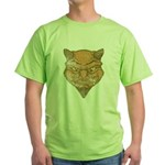 El Diablo (Distressed) Green T-Shirt