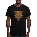 El Diablo (Distressed) Men's Fitted T-Shirt (dark)