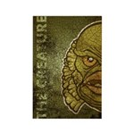 The Creature (Distressed) Rectangle Magnet (10 pac