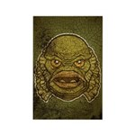 The Creature (Distressed) Rectangle Magnet
