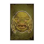 The Creature (Distressed) Mini Poster Print