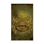 The Creature (Distressed) Sticker (Rectangle)