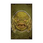 The Creature (Distressed) Sticker (Rectangle 50 pk