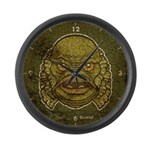 The Creature (Distressed) Large Wall Clock
