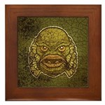 The Creature (Distressed) Framed Tile