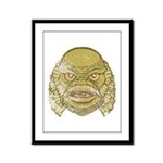 The Creature (Distressed) Framed Panel Print