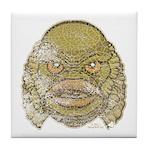 The Creature (Distressed) Tile Coaster