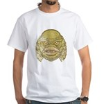 The Creature (Distressed) White T-Shirt
