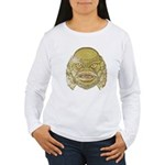 The Creature (Distressed) Women's Long Sleeve T-Sh