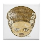 The Bride (Distressed) Tile Coaster