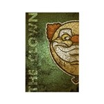 The Clown (Distressed) Rectangle Magnet (100 pack)