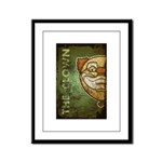 The Clown (Distressed) Framed Panel Print