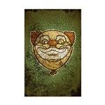 The Clown (Distressed) Mini Poster Print