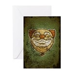The Clown (Distressed) Greeting Card