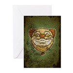 The Clown (Distressed) Greeting Cards (Pk of 10)