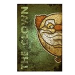 The Clown (Distressed) Postcards (Package of 8)