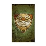 The Clown (Distressed) Sticker (Rectangle)