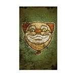 The Clown (Distressed) Sticker (Rectangle 50 pk)