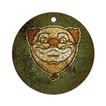 The Clown (Distressed) Ornament (Round)