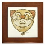 The Clown (Distressed) Framed Tile