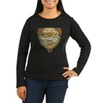 The Clown (Distressed) Women's Long Sleeve Dark T-