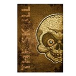 The Skull (Distressed) Postcards (Package of 8)