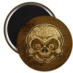 The Skull (Distressed) Magnet