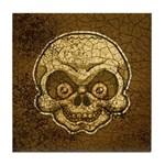 The Skull (Distressed) Tile Coaster