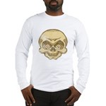 The Skull (Distressed) Long Sleeve T-Shirt