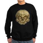 The Skull (Distressed) Sweatshirt (dark)