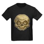 The Skull (Distressed) Kids Dark T-Shirt