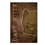 Dark Kitty (Distressed) Postcards (Package of 8)