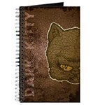 Dark Kitty (Distressed) Journal