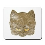 Dark Kitty (Distressed) Mousepad