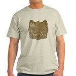 Dark Kitty (Distressed) Light T-Shirt