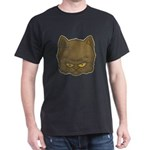 Dark Kitty (Distressed) Dark T-Shirt