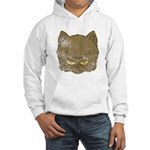 Dark Kitty (Distressed) Hooded Sweatshirt