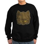 Dark Kitty (Distressed) Sweatshirt (dark)