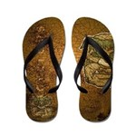 Mr. Cyclops Twobrow (Distressed) Flip Flops