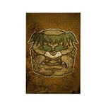 Mr. Cyclops Twobrow (Distressed) Rectangle Magnet