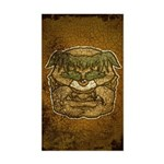Mr. Cyclops Twobrow (Distressed) Sticker (Rectangl